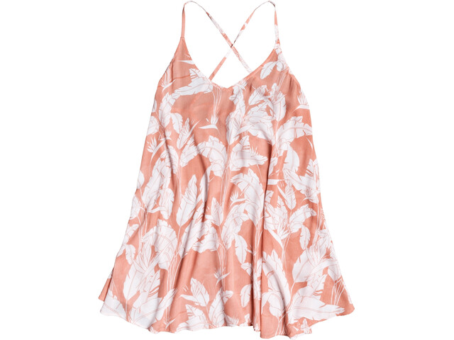 Roxy Printed Be In Love Sukienka Kobiety, terra cotta flying flowers s